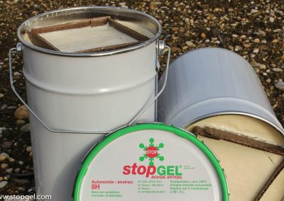 STOPGEL GREEN candles are 100% natural and renewable